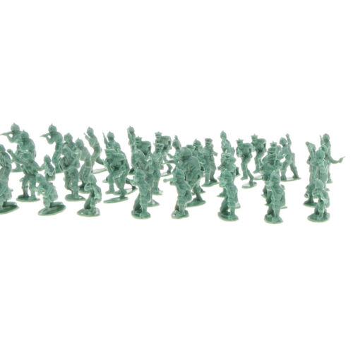 30pcs Plastikspielzeug Soldaten Shelters Bunker Artillerie Armee Sand Szene