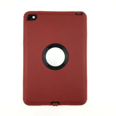 iPad 2 3 4 Air 2 & MINI Defender Case Shockproof Cover Built-in Screen Protector 9
