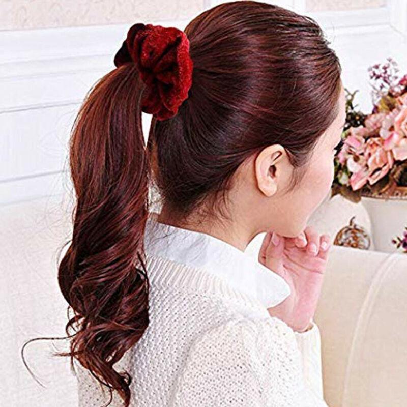 40Pcs Hair Scrunchies Velvet Elastic Hair Bands Scrunchy Hair Band 9 15 20pcs Ne 10
