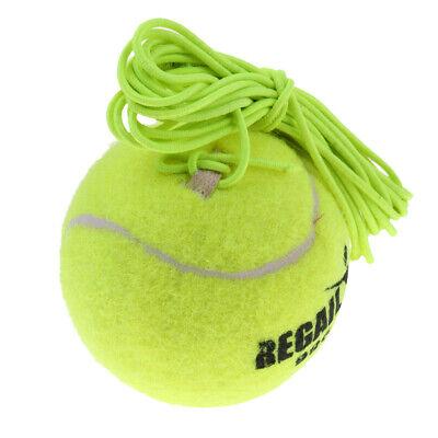 Langlebiger Elastischer Tennisball Mit Schnur Für Tennistrainer Trainer Grün