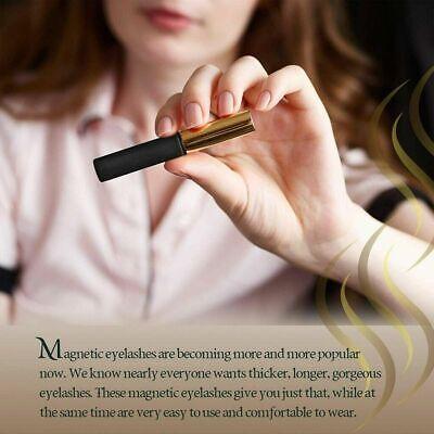 Magnetic Eyeliner Liquid & Lashes Kit - Set of 3 Mink Eyelashes Natural Long UK 4