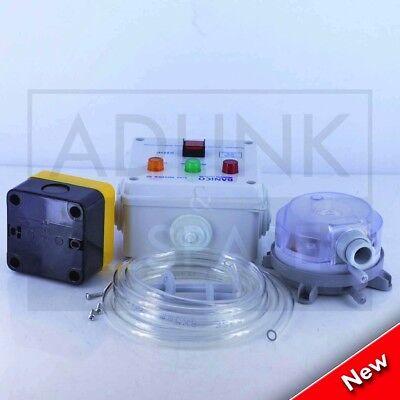 "Commercial Kitchen Gas Interlock Kit 1"" Gas Solenoid Valve & 28Mm Adaptors 4"