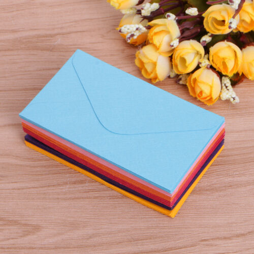 50Pcs Retro Blank Paper Envelopes Wedding Party Invitation Greeting Cards Gift