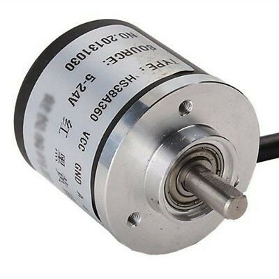 360p/r AB Inkrementaler Drehgeber Dc5-24v weit Eingangsspannungsbereich 6mm Achs