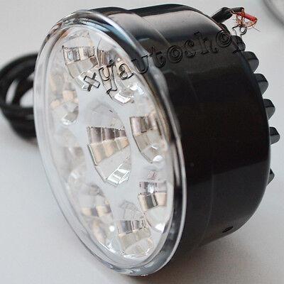 2x 9LED Round Daytime Driving Running Light DRL Car Fog Lamp Headlight White 3