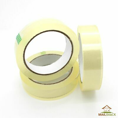 Clear Selotape 24mm x 66M Packing Crafts Office Cellotape 9