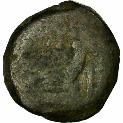 [#516084] Coin, Anonymous, As, 169-158 BC, Uncertain Mint, VF(20-25), Bronze 2