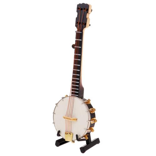 1/6 Soldier Scenario Accessories Decorations Metal Instruments Banjo Toys 6