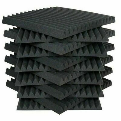 6/12/24 Acoustic Panels Tiles Studio Sound Proofing Insulation Closed Cell Foam 2