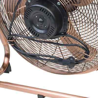 Bestron Ventilateur Turbo 45 cm Cuivre Ventilateur Électrique Refroidissement 8
