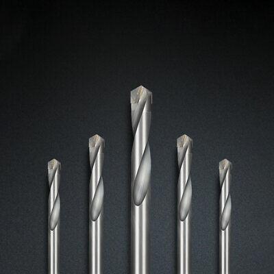3-16mm Tungsten Carbide Tip Drill Bit TCT Twist For Stainless Steel Iron Cutting 4