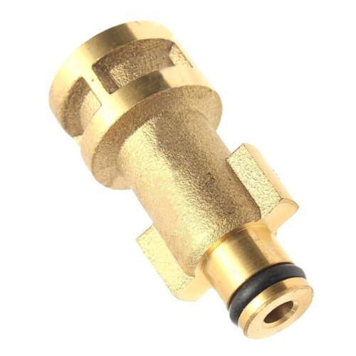 Brass Pressure Washer Snow Foam Lance Adapter Spray Jet Gun Connector 3