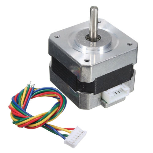 Metal Nema 17 Bipolar Stepper Motor 28N.cm 0.4A 12V 1.8° For CNC/3D Printer 8
