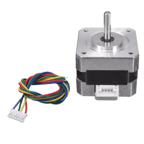 Metal Nema 17 Bipolar Stepper Motor 28N.cm 0.4A 12V 1.8° For CNC/3D Printer 7