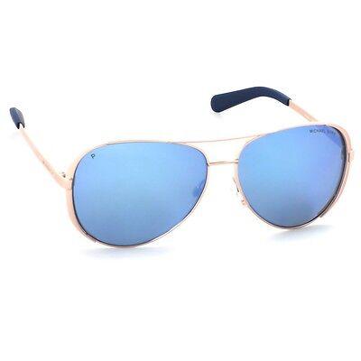 5be8f06c44dd ... NWT Michael Kors Sunglasses MK 5004 100322 Polarized Gold/Purple NOT 100325  59mm 3
