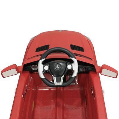 vidaXL Coche Correpasillos Eléctrico ML350 Mando a Distancia 6 V Rojo/Blanco 6