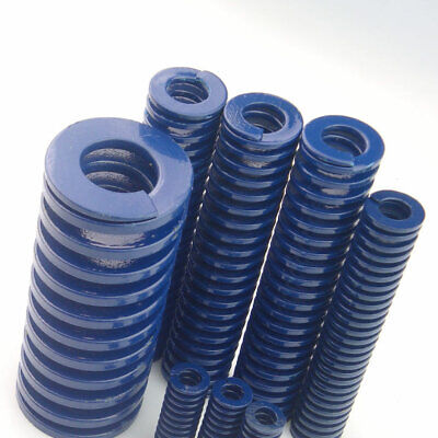 40mm OD Blue Light Load Compression Stamping Mould Die Spring 20mm ID All Sizes 8