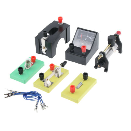 Physics Science Basic Circuit Electricity Classroom Experiment Learning Kit. 7
