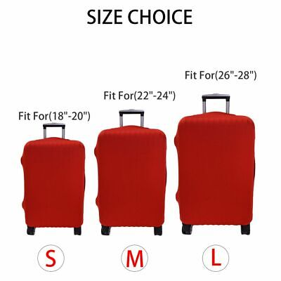 "Elastic Anti Luggage Suitcase Protector Cover Suitcase Anti  Scratch 18""-28"" 4"