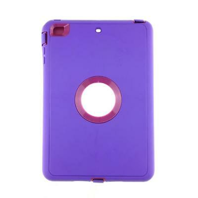 iPad 2 3 4 Air 2 & MINI Defender Case Shockproof Cover Built-in Screen Protector 3