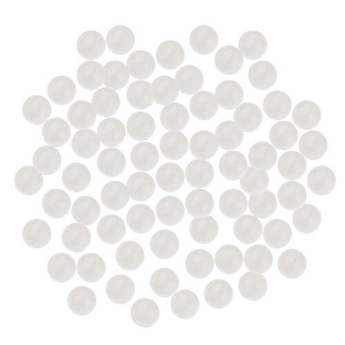 10mm Runde Transparente Glasmurmeln zum Füllen von Vasen Aquarium Decor