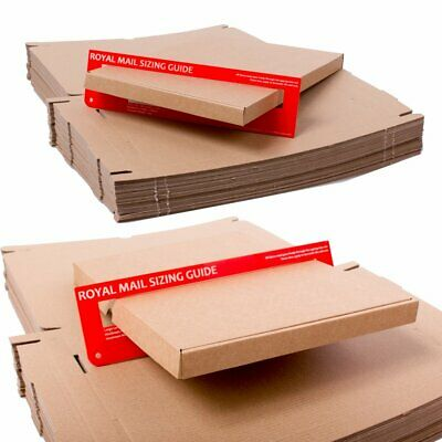 Royal Mail Large Letter Cardboard Box Pip Cheap Packaging Post A4 C4 A5 C5 A6 C6 2