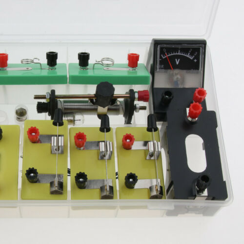 Physics Science Basic Circuit Electricity Classroom Experiment Learning Kit. 5
