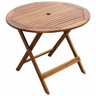 Tavolo E Sedie Da Giardino In Legno.Vidaxl Tavolo E Sedie Da Giardino 5pz Legno Acacia Pieghevole