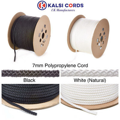 Polypropylene Rope Braided Poly Cord Strong String Boating Camping Sailing Yacht 8