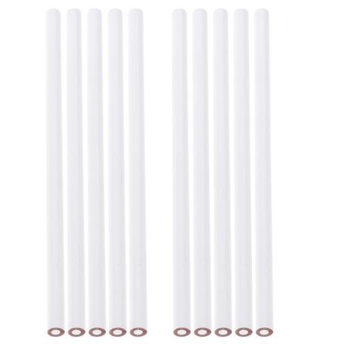10 Pcs China Marker Wax Pencil Non Toxic Glass Metal Wood Fabric white 3