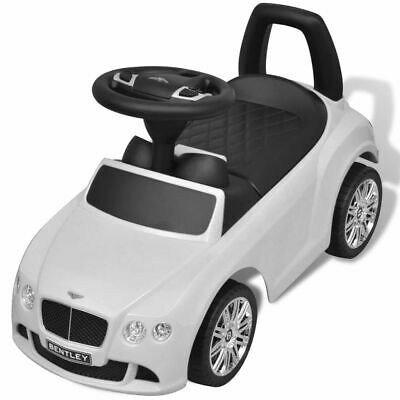 vidaXL Coche Correpasillos para Niños Bentley Blanco Auto Infantil de Juguete 6