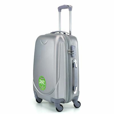 Juego de 3 maletas rigidas lisas de 4 ruedas giratoria 360 maleta equipaje viaje 5