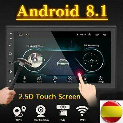 """7 """"Android 8.1 AUTORADIO con navegación GPS NAVI BLUETOOTH WIFI DOBLE 2 DIN MP3 7"""