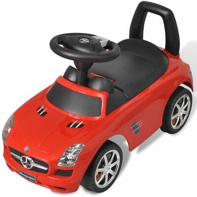 vidaXL Coche Correpasillos de Niños Mercedes Benz Rojo Coche Infantil Juguete 5