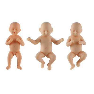 Miniature Hard Realistic Baby Doll Full Body Resin Reborn Lifelike Newborn Baby