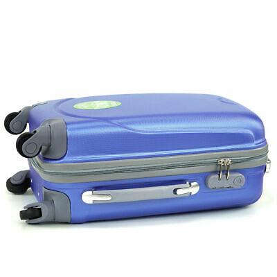 Juego de 3 maletas rigidas lisas de 4 ruedas giratoria 360 maleta equipaje viaje 3