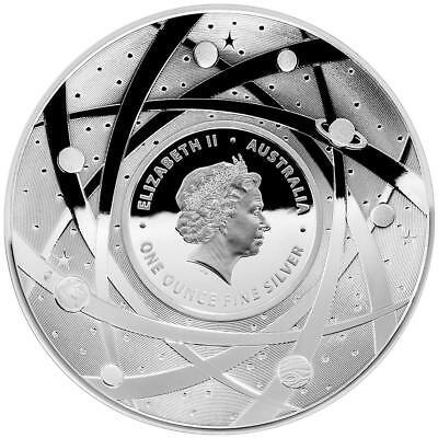 Australien 5 Dollar 2019 Die Sonne Gewölbt Earth and Beyond (3.) 1 Oz Silber PP
