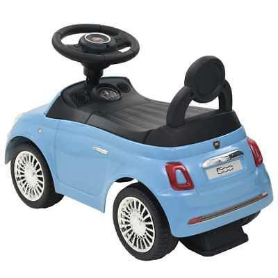 vidaXL Coche Correpasillos para Niño Fiat 500 Carrito Juguete Diversos Colores 12