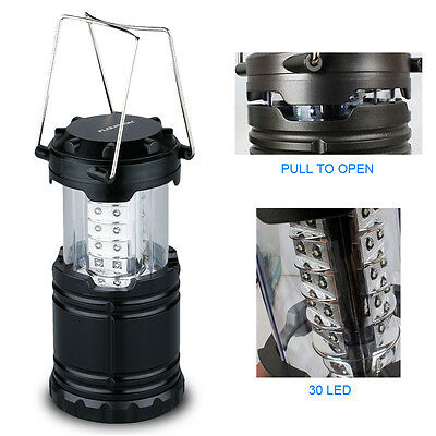 2p x 30 LED Camping Lantern Portable Collapsible Light Outdoor Hiking Work Lamp 7