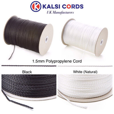 Polypropylene Rope Braided Poly Cord Strong String Boating Camping Sailing Yacht 3