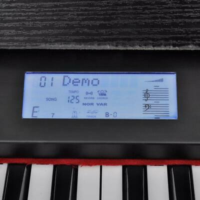 Classic 88 Standard Size Keys Electronic Digital Music Piano Keyboard with Stand 7