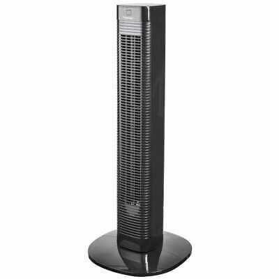 Bestron Ventilateur Tour avec Télécommande 80 cm Noir Ventilateur de Bureau 5