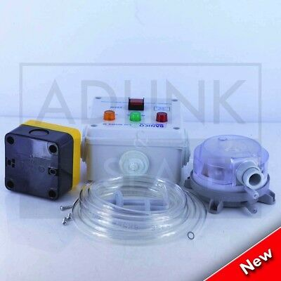 Gas Interlock Control Panel C/W Pressure Switch Commercial Kitchen Interlock 3