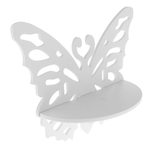 Schmetterlings-förmige hölzerne Wand-Regal-Präsentationsständer-sich