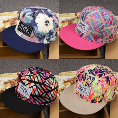 966fecd295470b 2 of 12 Fashion Men's Snapback Adjustable Baseball Cap Hip Hop hat Cool  Floral Print