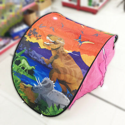 Dream Tents Kid Unicorn Space Foldable Tent Pop up Indoor Bed House +Tents Light 3