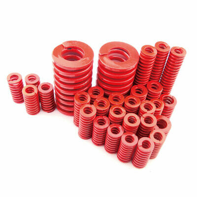 22mm OD Red Medium Load Compression Stamping Mould Die Spring 11mm ID All Sizes 8