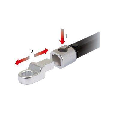 Ks Tools 9x12mm ULTIMATEprecision Einsteck-Drehmomentschlüssel, 5-50Nm 516.4222 2