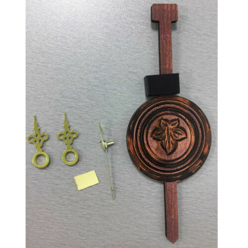 2Pcs Retro Collectible Handcrafted Wood Cuckoo Wall Clock with Pendulum 8
