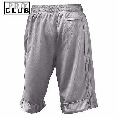 New Men's Proclub Printed Skull Funny Heavy Weight Basketball Mesh Shorts Pants 5